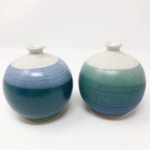 Pringle Pottery Bud Vase Set